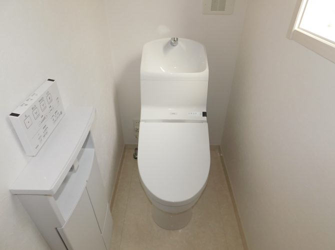 A号棟・トイレ