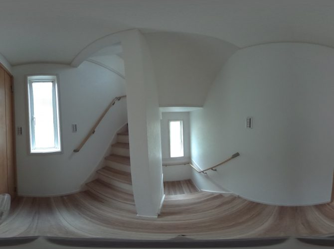 A号棟2階 廊下