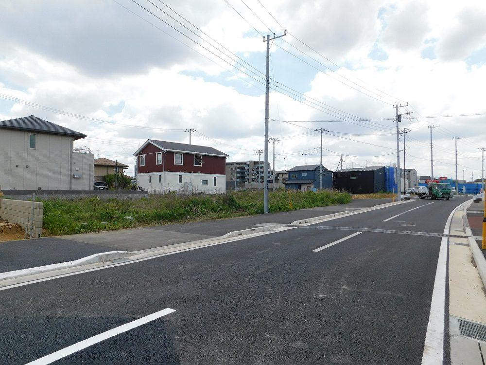 現地・前面道路写真(2019年5月撮影)