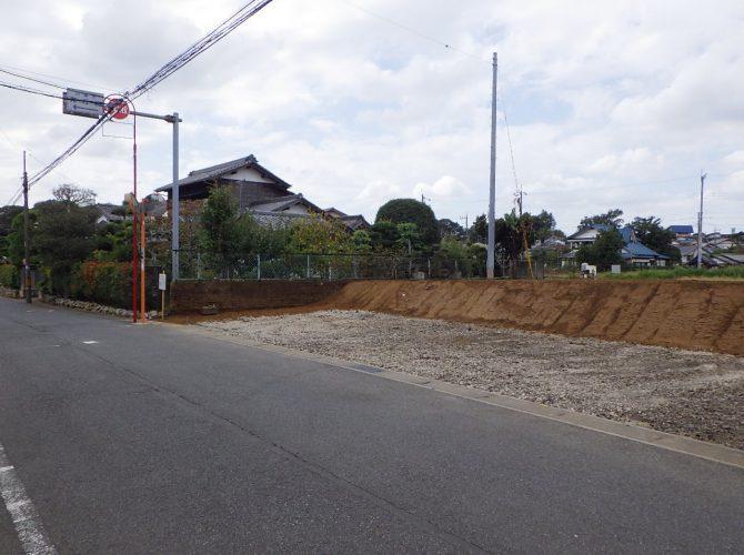現地写真 前面6m公道(2019年10月撮影)
