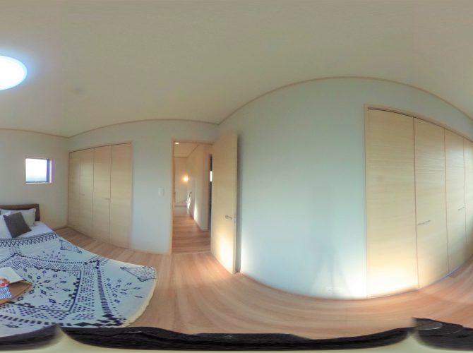 F号棟・モデルハウス 2階 7帖寝室