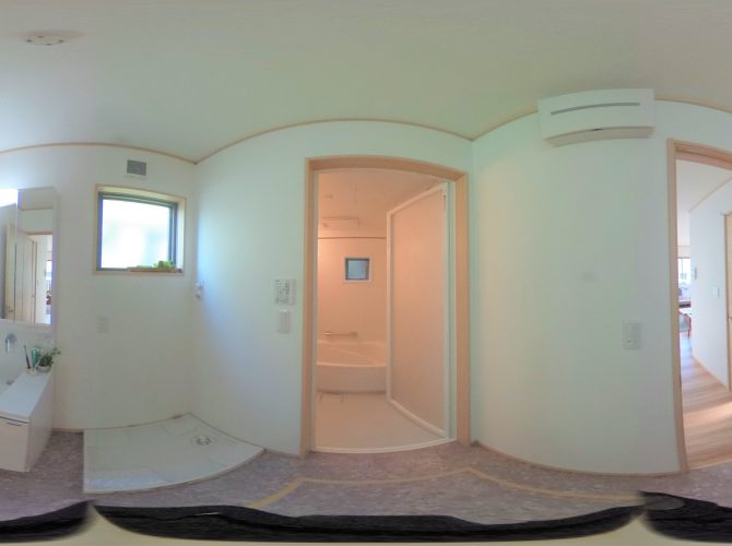 F号棟・モデルハウス 1階 洗面・浴室