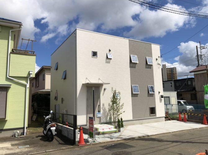 区画F 108.72㎡(32.72坪)モデルハウス