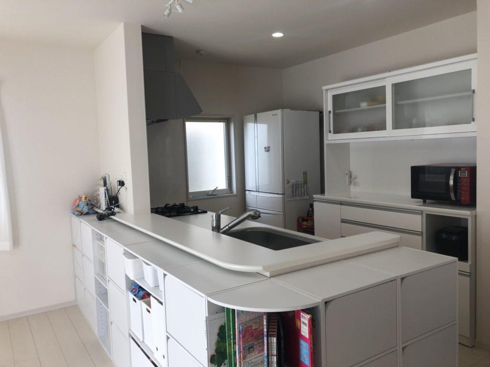 キッチン写真(2020年4月撮影)