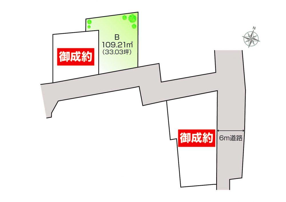 高塚新田Ⅱ・区画図