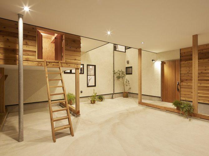 グッドデザイン賞2017受賞【三層高床式の家】