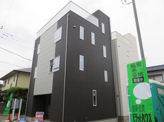 洗練されたアーバンスタイル、ビルトインガレージと屋上スカイテラスの家【モダリット津田沼】