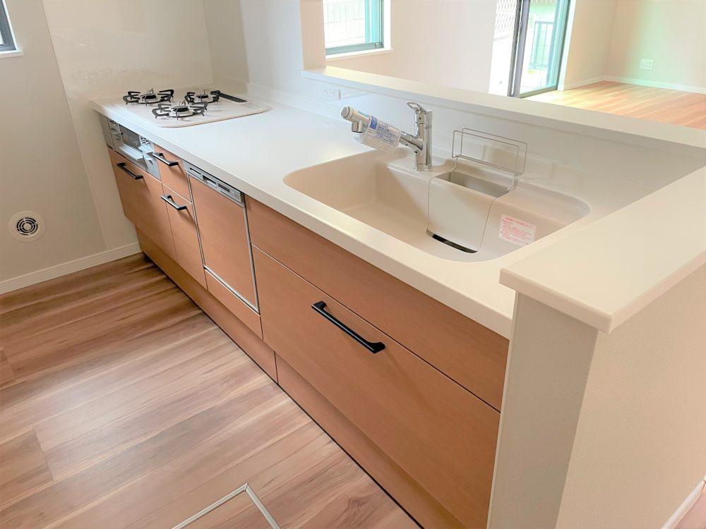1階キッチン(2021年9月撮影)