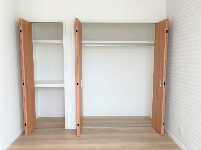 2階4.8畳洋室 収納(2021年9月撮影)
