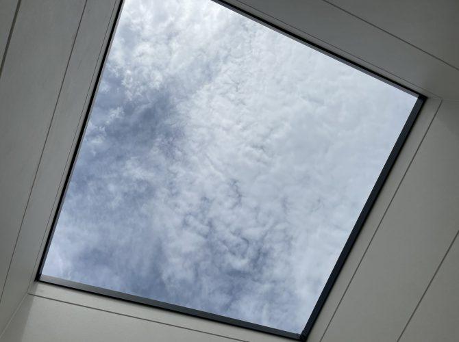 2階4.8畳洋室 バルコニー(2021年9月撮影)