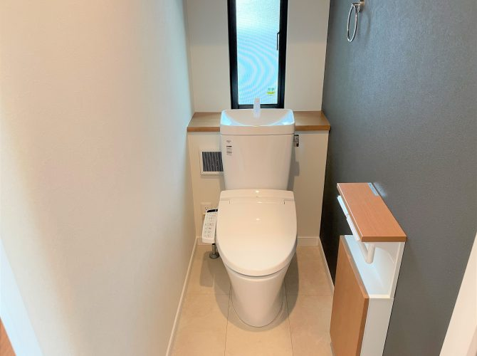 1階トイレ(2021年9月撮影)