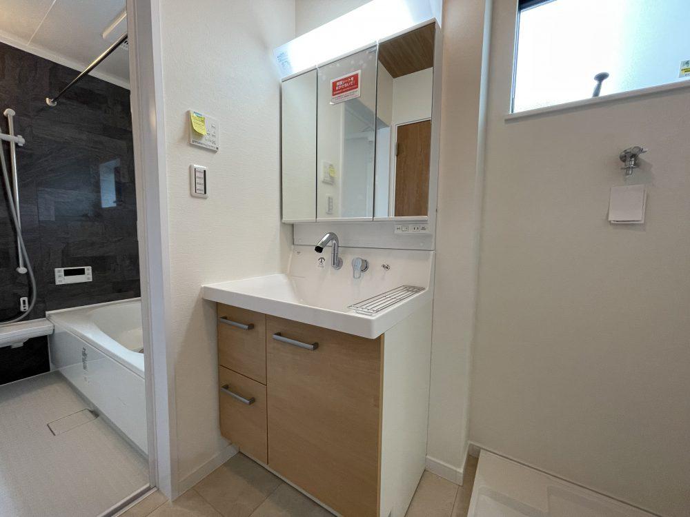1階洗面室(2021年9月撮影)